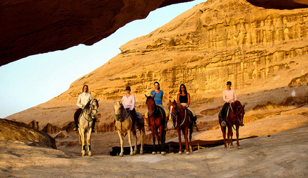 Wadi Rum horse riding